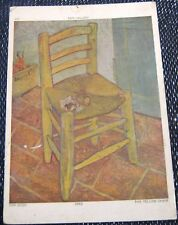 Postcard Art tate Gallery Van Gogh the Yellow Chair - unposted