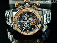Invicta Men's 52mm Subaqua SEA DRAGON Swiss Ronda Chronograph Stainless St Watch