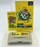 Super Mario World Nintendo Super Famicom  JAPANESE VERSION SFC