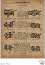 1913 PAPER AD Meisselbach Blue Grass Fishing Reel Diamond Brand Triumph