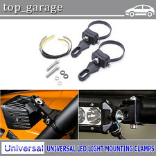 """3"""" Inch Universal LED Work Light Mounting Clamps Bull Bar/Roll Cage/Grill Guard"""