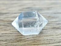 Herkimer Diamond Clear Crystal Quartz Double Point Wand Gemstone Healing Reiki