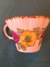 Vintage Sailsbury Iceland Poppy Bone China Cup Made in England