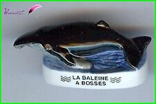 "Feve Les Mammifères Marin Edition Atlas "" La Baleine à Bosse ""  #B50"