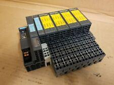Siemens ET200S 6ES7151-1BA02-OABO/6ES7138-4CB11-OABO/6ES7138-4FA03-OABO Profi