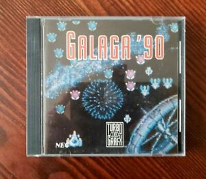 Galaga '90 (TurboGrafx-16, 1989) Complete in case!