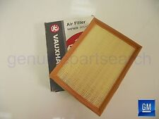 Genuine Vauxhall Vectra B Air Filter Cleaner Element Z22 SE Petrol 90540602