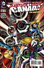 JUSTICE LEAGUE UNITED #4 1/2 PRICE CANADA VARIANT COVER DC COMIC BOOK NEAR MINT