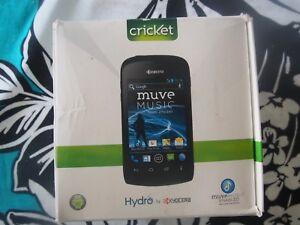 Kyocera Hydro C5171 8GB Black (Cricket Wireless) Fair Condition Bad ESN -