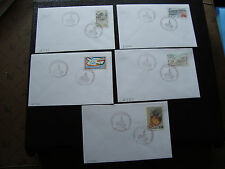 FRANCE - 5 enveloppes 16/4/1998 (cy42) french