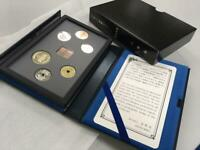 JAPAN MINT 2019 Proof Coin Set The Last Year of Heisei era In Leather Case New
