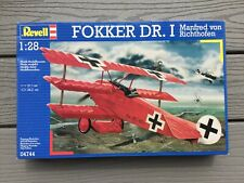 REVELL 1/28 WW I GERMAN FOKKER DR. 1 TRIPLANE FIGHTER PLANE MODEL KIT 04744 F/S
