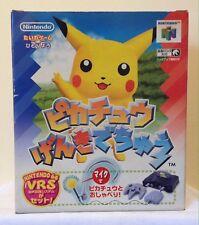 NINTENDO 64 CONSOLE ,1998 JAPAN POKEMON EDITION,