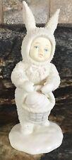1994 Dept 56 Sowbunnies With Easter Egg Basket Figurine