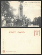 Old Michigan Postcard - Muskegon - Hackley School - Rotograph