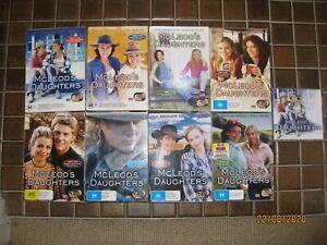 McLeod's Daughters - The Complete Saga / Series (52 discs) DVD - GC to VGC