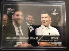 Topps now Award UEFA Champions League 2019 Lionel Messi & Cristiano Ronaldo /008