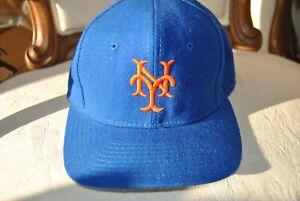 1986 WORLD SERIES TEAM NY METS BASEBALL HAT 5 SIGNATURES