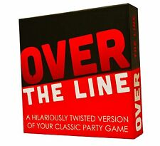 OVER THE LINE Party Game ~ A Combination Of Charades & Pictionary NEW IN BOX