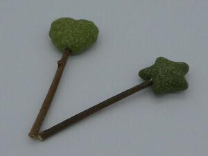 (CT051) Silvervine Stick Catnip Matabi Lollipop Chewing Teeth Toy