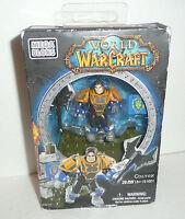 Colton World of Warcraft Mega Bloks Mini Figure Human Alliance WoW 91001 Blocks