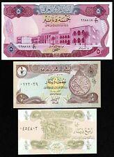 IRAQ Set of 3 Crisp UNC Banknotes -- Includes P-64 (5 Dinars 1973) UNC