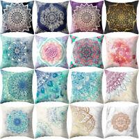 Ethnisch Mandala Kissenbezug Polyester Kissenbezüge Kissenhülle SofaHülle Dekor