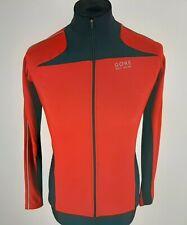 Gore Bike Wear Thermal Fleece Long Sleeve Cycling Jersey Women Size 38 Full-Zip