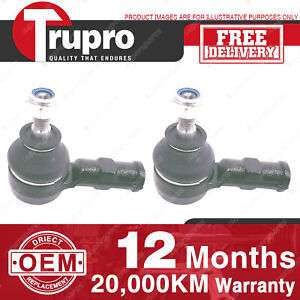 2 Pcs Trupro LH+RH Outer Tie Rod Ends for HOLDEN BARINA SB XC COMBO SB XC