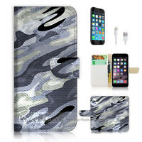 ( For iPhone 6 / 6S ) Wallet Case Cover P0667 Abstract Pattern