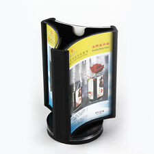 Restaurant Cafe Club Bar Table Drinks Card Rotating Menu Display Holder Stand