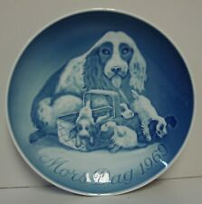 """Bing & Grondahl MOTHER""""S DAY MORS 1969 DOG PUPPIES More ITEMS Available"""