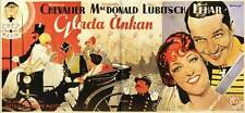 THE MERRY WIDOW Movie POSTER 20x40 Maurice Chevalier Jeanette MacDonald Edward