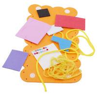 Creative Kids Children DIY Wallet Crafts Puzzle Educational Toys AL