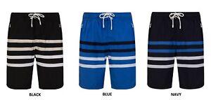 Mens Swim Shorts Trunks Ex Timberland Swimwear Beach Swimming Holiday Zip Pocket