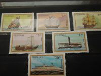 N602 STAMPS PHILIPPINES 1984 SHIPS MI 1629/34 MNH