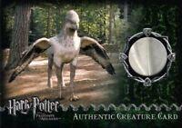 Harry Potter Prisoner Azkaban Update Buckbeak's Feather Prop Card HP #158/390