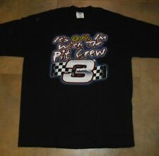 """Dale Earnhardt shirt sz. Large NEW nwot """"It's OK I'm with the Pit Crew"""" MINT"""