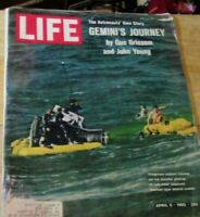 LIFE MAGAZINE: Gemini's Journey, The Astronauts Own Story, April 1965 Issue