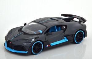 1:24 Maisto Bugatti Divo 2018 mattgrau/lightblue