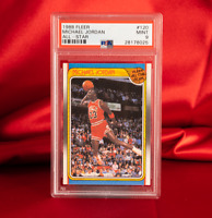 PSA MINT 9 1988 Fleer Michael Jordan All Star HOF Last Dance Bulls