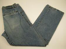 Mens Diesel 32x32 Blue 100% Cotton Loose Fit Distressed Denim Jeans