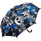 Rainstoppers Boys Skull Print Umbrella 34-