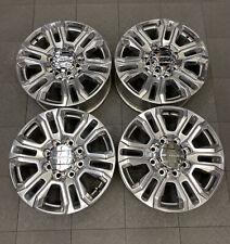 5957 96445 Gmc Sierra Denali 2500 3500 Srw 20 Factory Oem Wheels Set 23377034