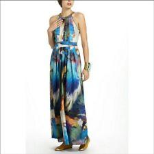 RANNA GiLL Tropicalia Vestido Largo Pequeño Mujer Multicolor Poliéster Mangas