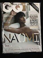 2007 APRIL GQ UK MAGAZINE - NAOMI CAMPBELL! David Tennant, Ray Lamontagne