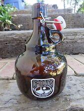 2 Liter BEER GROWLER ~ PINNACLE Brewing Co (GROGGS) ~ Helper, UTAH Brewery