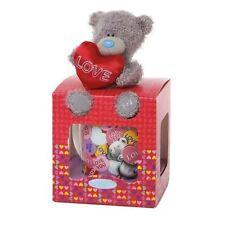 "Me to You Tatty Teddy Bear-LOVE Tazza E 4 ""PELUCHE Set Regalo"
