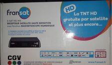 RECEPTEUR DECODEUR TNT HD CGV FRANSAT SATELLITE +ACCESSOIRES COLISSIMO SUIVI 48h