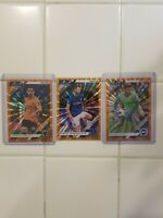 2019/20 Panini Chronicles (orange press) Premier league Soccer 3 cards lot